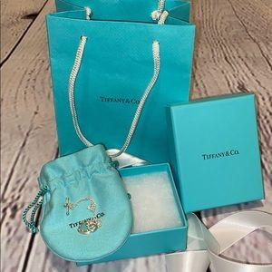 NWT Tiffany's Heart Toggle bracelet